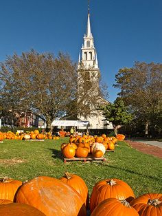 Trinity Church Pumpkinfest in Newport, Rhode Island