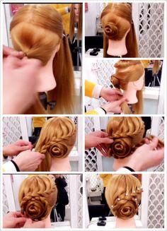 Hair styles! – Famous Last Words Kashees Hairstyle, Dance Hairstyles, Braided Hairstyles Updo, Wedding Hairstyles, Quinceanera Hairstyles, Wedding Updo, Vintage Hairstyles, Bridal Hair Pin Ups, High Bun Hair
