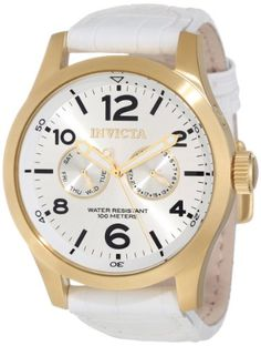 Men's Wrist Watches - Invicta Mens 12174 Specialty Silver Tone Dial Watch -- You can find more details by visiting the image link.