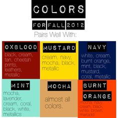 Color outfit tips