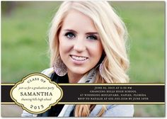Barton College Graduation Invitations 117