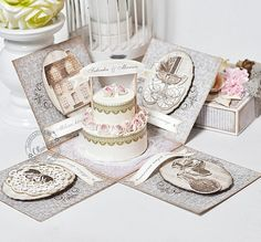 CraftHobby Oliwiaen: Torcik z obrazkami / Cake With Images