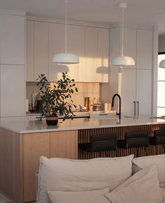 Kitchen Interior, Kitchen Design, Scandinavian Home, Minimalist Decor, Kitchen Styling, Ideal Home, Home Projects, Home Kitchens, Decoration