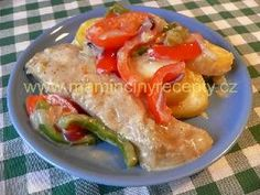 Báječná ryba No Salt Recipes, Sushi, Chicken, Kochen, Salt Free Recipes, Buffalo Chicken