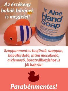 Természetes alapú szappanmentes szappan, mely sokoldalúan használható.