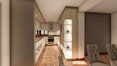 "Diseño Interior contratación ""a la Distancia"" Divider, Room, Furniture, Home Decor, Kitchen Design, Kitchens, Home Interiors, Design Projects, Custom Furniture"