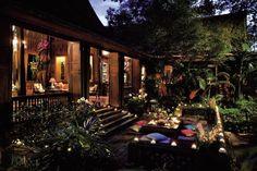 Jim Thompson House Thailand, the world's best known Thai silk company. #wherethailand #jimthompson #thaisilk