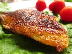 This was taken from one of my favorite cookbooks, Miserly Meals!  It is the only way we eat fish now!! If you like spicy, you will love this.