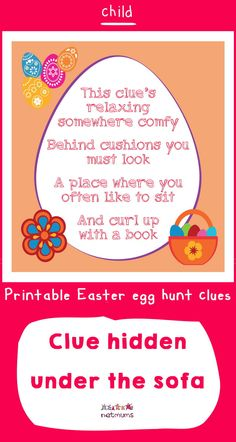 Looking for inspiration for Easter egg hunt clues? We've got some great ones that will take your kids on an exciting trail to find the ultmate prize of . Easter Scavenger Hunt, Scavenger Hunt Clues, Christmas Scavenger Hunt, Scavenger Hunts, Easter Egg Hunt Clues, Easter Eggs, Easter Bonnets, Board Game Geek, Board Games