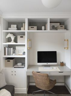 On a budget Home Office Design Ideas. Thus, the demand for home offices.Whether you are intending on including a home office or restoring an old space right into one, here are some brilliant home office design ideas to aid you get going. Office Nook, Home Office Space, Home Office Desks, Small Bedroom Office, Closet Into Office, Narrow Bedroom Ideas, Small Office Decor, Tiny Home Office, Closet Desk