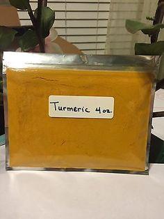 Turmeric-Root-Powder-4-oz-Curcuma-Longa-Curcumin-Indian-Spice-FREE-SHIPPING