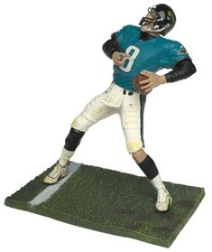 Great sale information Online McFarlane NFL Series 2 Mark Brunell in  Jacksonville Jaguars Teal Jersey Figure eeeb4d7b9