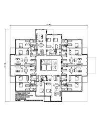 Rezultate Imazhesh Për High Rise Residential Floor Plan Architecture Apartment Plans Layout