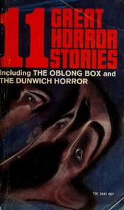 Cover of: 11 great horror stories by