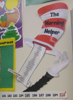A Turn to Learn: My New Cat in the Hat Classroom Theme!!!