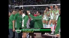 UAAP Season 77 First Runner Up - DLSU Lady Spikers. Waiting for Season 78! Ara Galang's comeback. But for now, I'm praying for your fast recovery. Get well soon ARAbels!