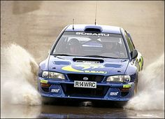 Colin McRae Nicky Grist had taken over from Derek Ringer as co-driver in 1997, but the duo fell further back in 1998, finishing third overall despite three rally wins