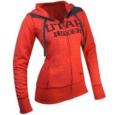 Utah Utes Women's Legacy Full-Zip NCAA Under Armour ...