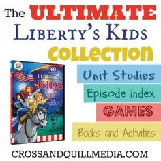 We love Liberty Kids!!  Free Homeschooling Resources: The Ultimate Liberty's Kids Collection