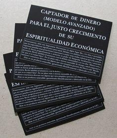 CAPTADOR DE DINERO via ALMACÉN DE ANÁLISIS. Click on the image to see more!