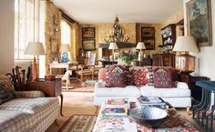 William James travels around the world for his work, but always looks forward to relaxing at his tranquil village house in south-west France