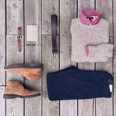Dad's Follow @dadthreads for more and don't forget @stylishmanmag  Featuring: @mitchyasui Sweater: @frankandoak Chinos: @frankandoak Chukkas: @frankandoak Shirt: @bananarepublic Belt: @gap Watch: @seikowatchusa Penpaper: @owenandfred by dadthreads
