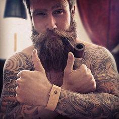 Os barbudos tatuados que vão acelerar seu coração | Tinta na Pele