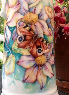 Peacock vase By Mark Jones - Поиск в Google