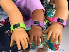 DIY American Girl Fitbit