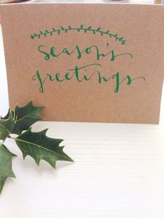 custom Christmas card: 5x7 on Etsy, $2.00