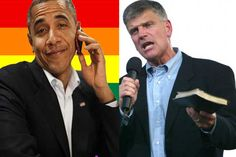 Barack Obama Hosted Gay Pride Event at White House – Rev. Franklin Graham Has a BRUTAL Response! |