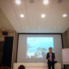 Taller Turismo Creativo organizado por Economia Creativa Consultancy con la colaboration Museo Carmen Thyssen Malaga