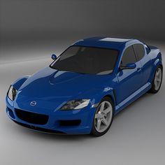 3ds max rx8 car sports