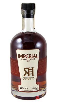 Imperial Barrel Aged Gin Roundhouse Spirits #americanhandcraftgin #americangin…