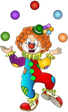 This high quality free PNG image without any background is about clown, distinctive makeup, colourful wigs, colourful clothing and clipart. Happy Birthday Png, Circus Birthday, Circus Theme, Circus Book, Lion Painting, Painting For Kids, Art For Kids, Clown Fancy Dress, Clown Images