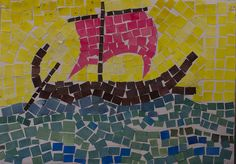 Mozaic: The Argo Ancient Greek Art, Ancient Greece, Roman History, Art History, Rome Art, Greek Paintings, Greece Art, History For Kids, Viking Art