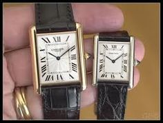 Louis Cartier Tank & Louis Cartier Tank XL... Has to be mineeee!!! Since Louis already died ummm and they are private collection and since my dad had them, I love them... Grew Up with them around! Most beautiful classy watch ever!