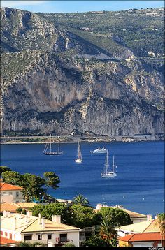 SAINT JEAN CAP FERRAT~ magnificent village on a promontory overlooking the sea. Home to many celebrities and Musée Ephrussi de Rothschild, and Villa Kerylos.