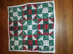 First Christmas quilt 1997