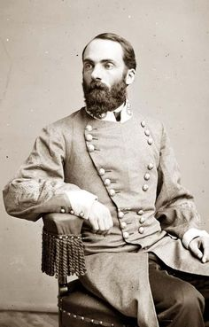 Portrait of Major General Joseph Wheeler, officer of the Confederate Army