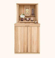 お仏壇のはせがわ SOLID BOARD JUST(ソリッドボード ジャスト) Temple Design, Altar, Bookcase, Meditation, Corner, Shelves, Cabinet, Room, Ideas
