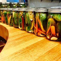 How to can and pickle veggies