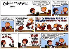 Image detail for -The Saturday Comics: Calvin and Hobbes. « Mr. Blog's Tepid Ride