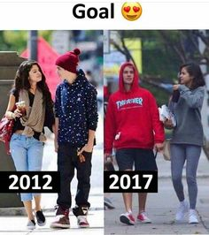 I really miss them they look so beautiful with each other Justin Bieber Selena Gomez, Justin Bieber And Selena, Alex Russo, Selena Gomez Outfits, Popular People, Romance, Marie Gomez, Cute Relationships, Hollywood Celebrities