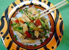 The Briny Lemon: Hot and Sour Chicken-Broccoli Stir-Fry