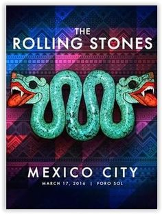 The Rolling Stones - 2016 - Olé Tour - Mexico D.F. - Mexico
