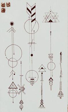 Tatuaje - Flechas