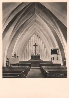 Böhm, Dominikus - Pfarrkirche St. Apollinaris, Frielingsdorf (Parish Church of St. Apollinaris, Frielingsdorf), 1927-1928