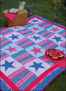 Quilt Magazine | Quilt Magazine » Blog Archive » Simple Quilts: Sp 2011 – Stars & Stripes