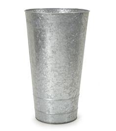 Galvanized Tin French BucketGalvanized Tin French Bucket,